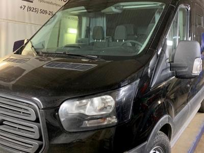 Форд Транзит с полным приводом и пневматической подвеской задней оси