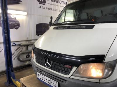 Мерседес Спринтер Классик спарка с пневмоподвеской и системой управления из салона