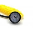 Шланг подкачки шин с манометром и дефлятором