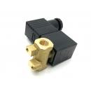 Электромагнитный клапан в сборе с разъемом, резьба 1/8, 12 VDC